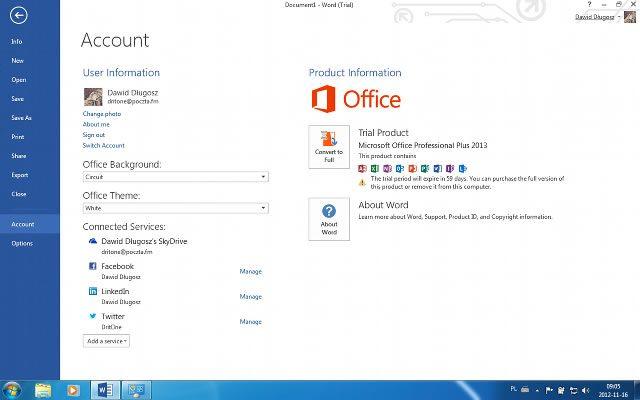 Office 2013 появится в продаже 31 мая