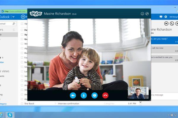 Skype подключили к Outlook