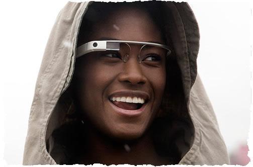 Первые очки Google Glass