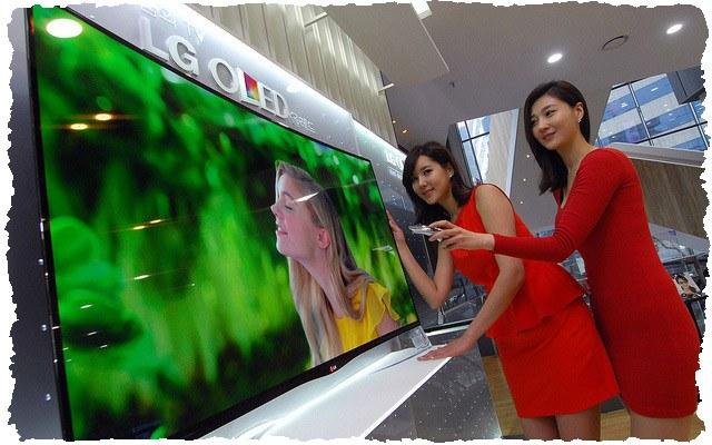 Изогнутый OLED-телевизор от LG