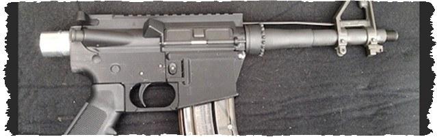 Пластиковый пистолет на 3D-принтере