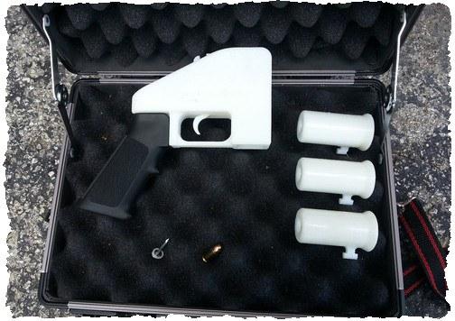 Пистолет 3D Liberator в сборке