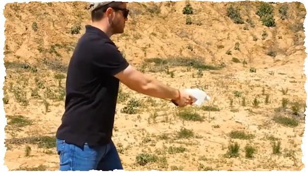 Пистолет 3D Liberator в действии