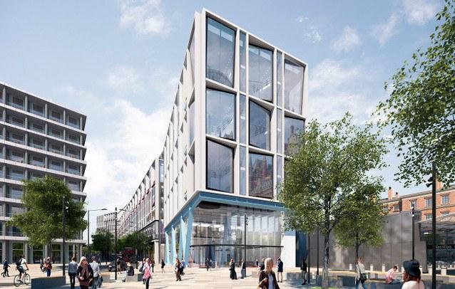 Проект штаб-квартиры Google в Лондоне