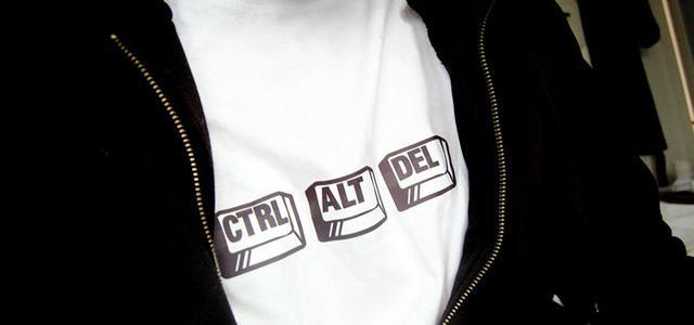 Самая знаменитая комбинация Ctrl - Alt - Del