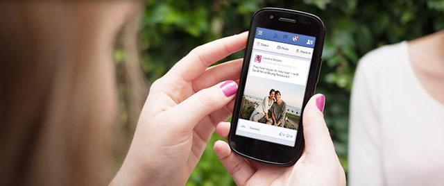 Новое приложение Facebook для android