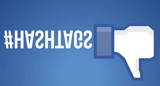 Хэштеги на Facebook - это поражение?