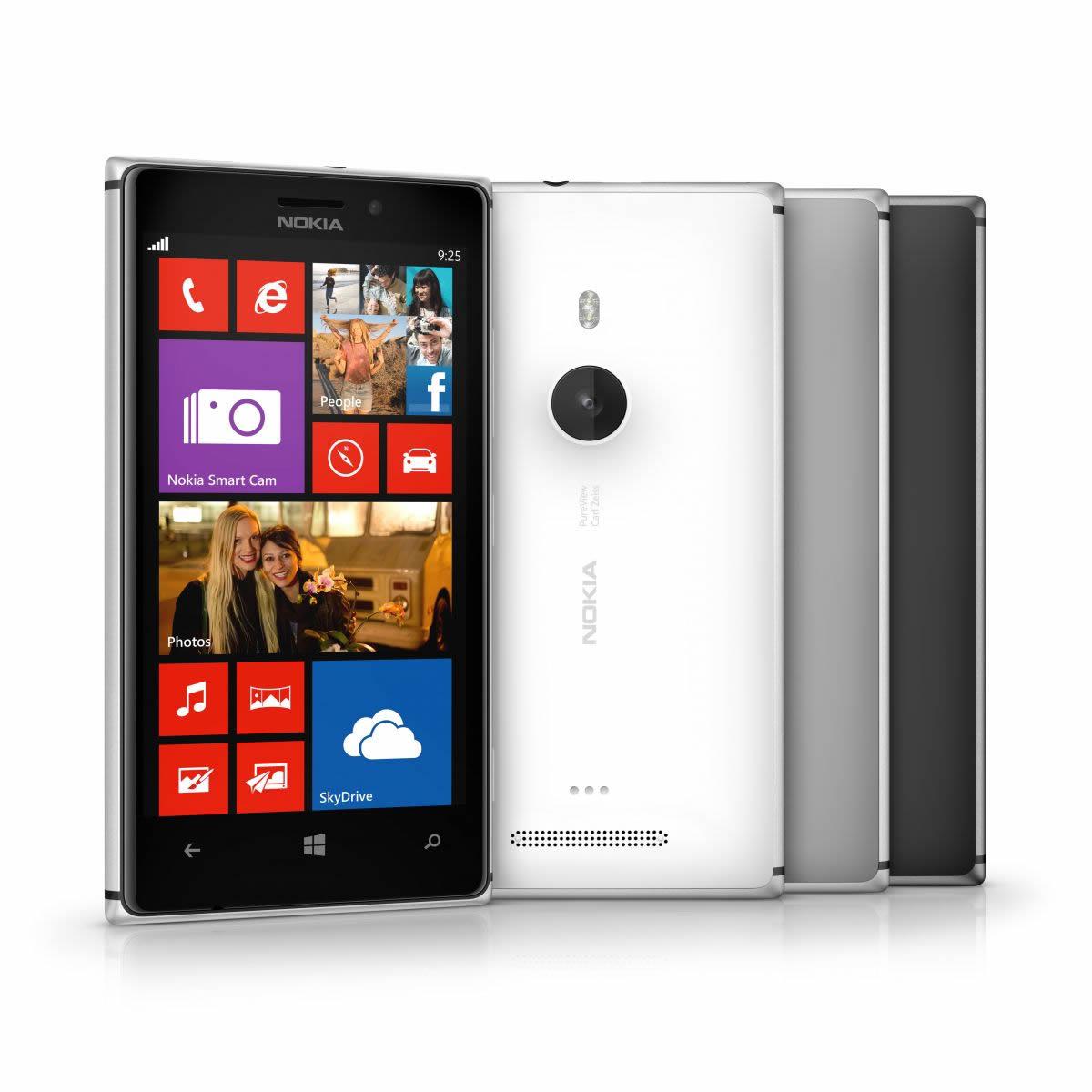 Варианты оформления Nokia Lumii 925
