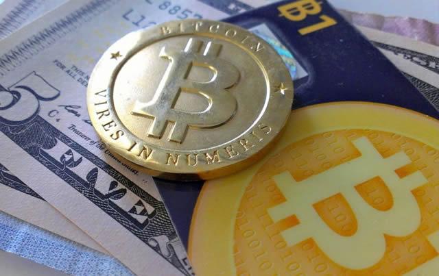 Как выглядят монеты и купюры Bitcoin