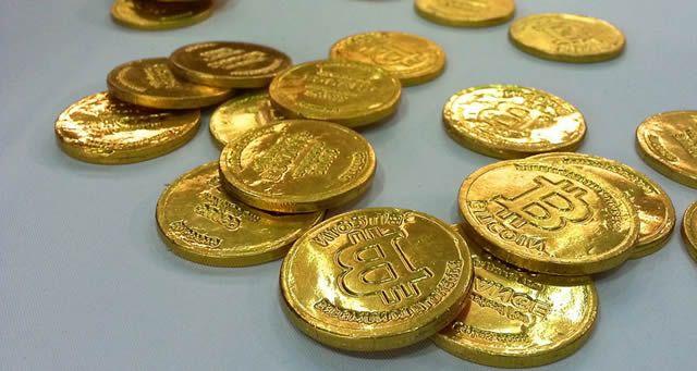 Шоколадки ввиде bitcoin монет
