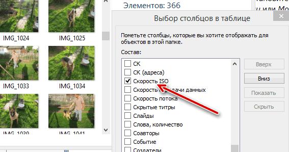 Добавление параметра группировки файлов по метаданным