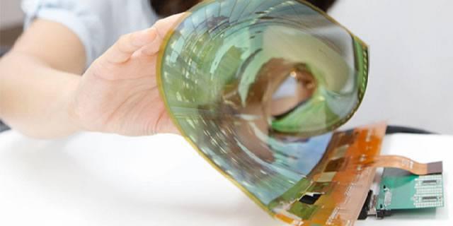 Компания LG демонстрирует гибкий дисплей