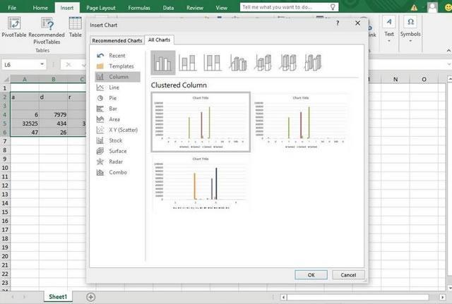 Excel 2016 – создание диаграмм