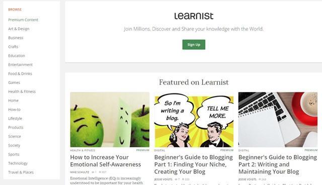 Учиться у лучших на Learnist