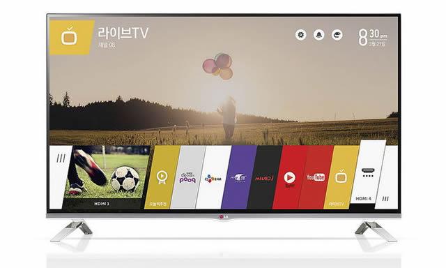 Телевизор LG под управлением системы WebOS
