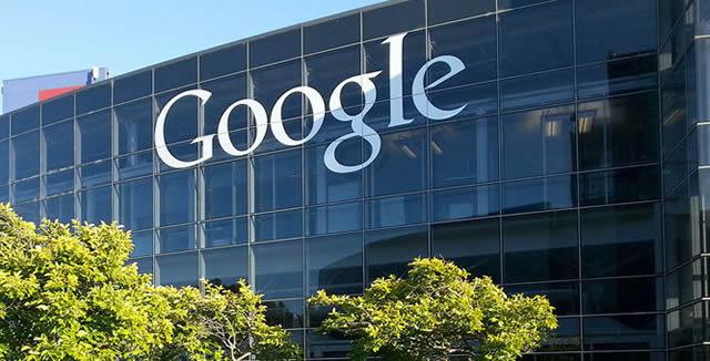 Офис Google залитый светом утреннего солнца