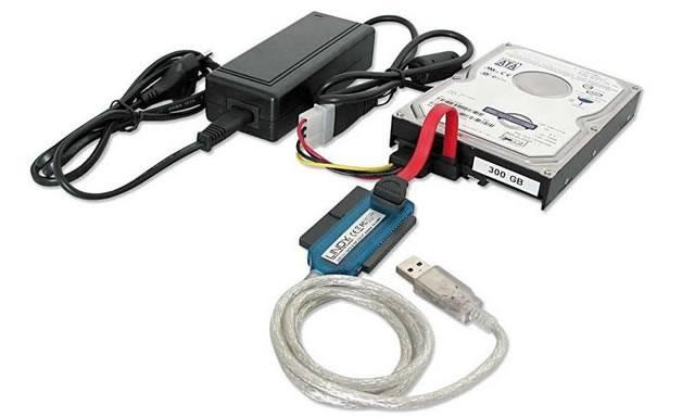 Подключение жесткого диска IDE к разъему SATA
