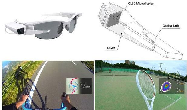 Прототип Sony SmartEyeglass