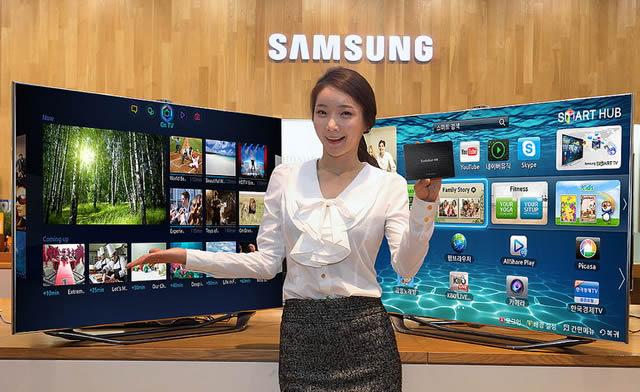 Презентация функцию телевизоров Smart TV
