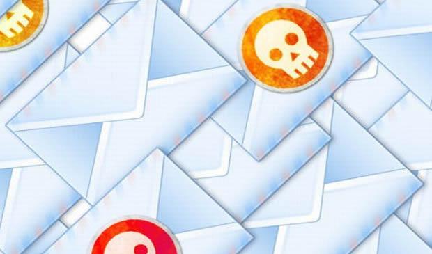 E-mail сообщений с вирусом