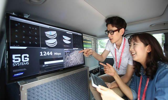 Корейские специалисты тестируют мобильную сеть стандарта 5G