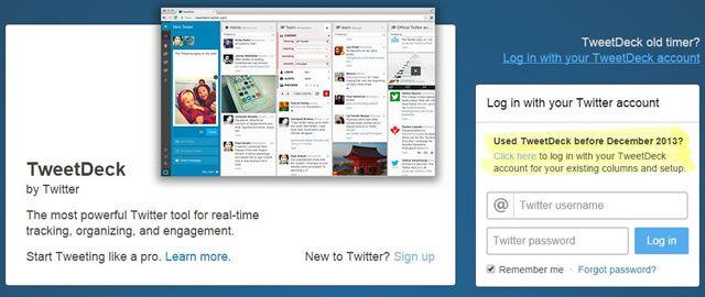 Организация и планирование TweetDeck