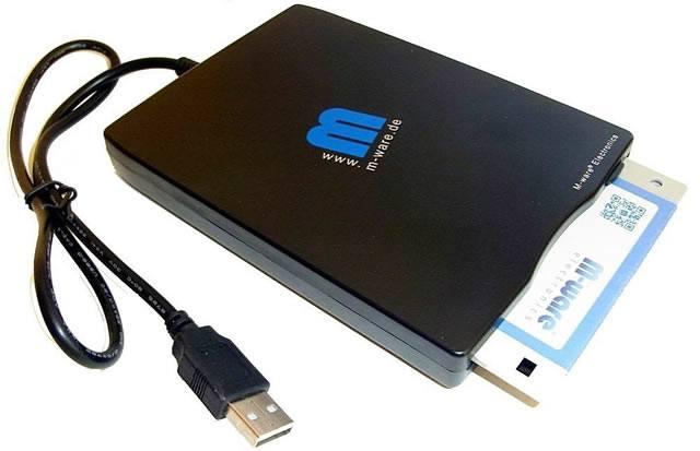 Считывание дискет с помощью USB-устройства