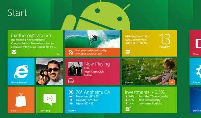 Android приложения скоро будут доступны в Windows