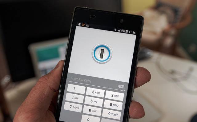 Защищенный цифровым замком смартфон