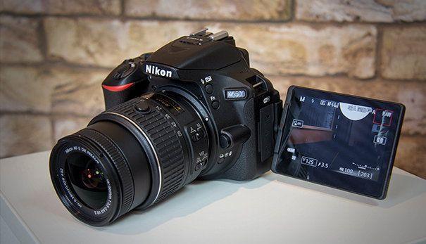 Nikon D5500 – лучшая любительская цифровая зеркальная фотокамера