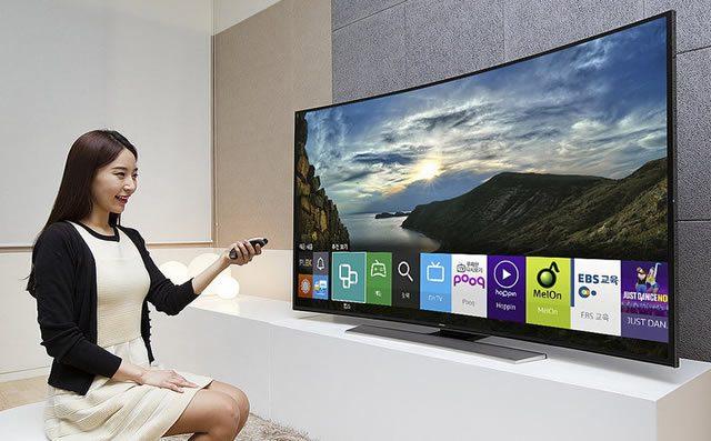 Презентация телевизора Smart TV Samsung под управлением Tizen