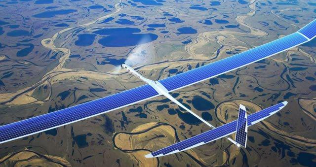 Беспилотный летательный аппарат Google SkyBender 5G