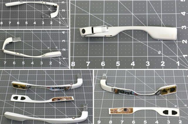 Изображение из патента на обновленные Google Glass Enterprise Edition