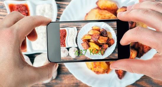Оценка калорийности блюда с помощью приложения Im2Calories