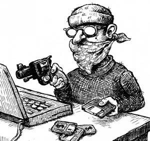 Интернет-грабитель приготовился к краже наших денег