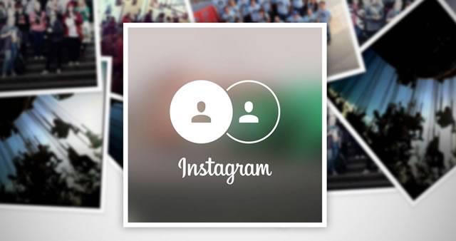 Множественный вход в приложение Instagram