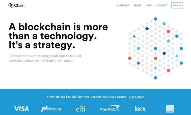 Американская фондовая биржа Nasdaq объединилась с компанией Chain для того, чтобы развивать технологию Block Chain