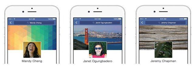 Новый вид профилей Facebook на устройствах с iOS