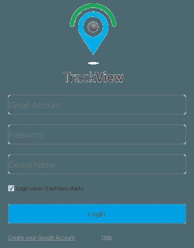 Подключение модуля TrackView к аккаунту пользователя Google