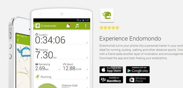 Приложение для любителей бега – Experience Endomondo