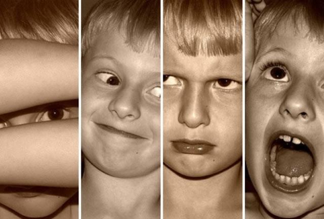 Различные эмоциональные реакции у ребёнка
