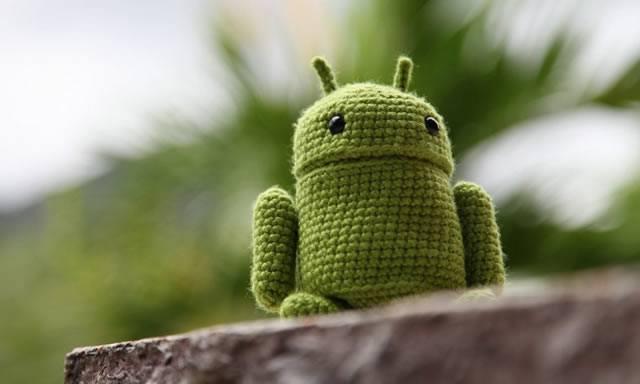 Напуганный шерстяной Google Android