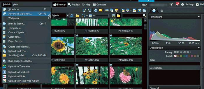 управления программы фотографиями для