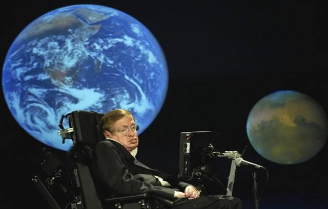 Стивен Хокинг рассказывает о своём видении будущего человечества