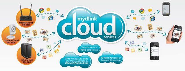 Создание домашней сети на базе технологии mydlink cloud