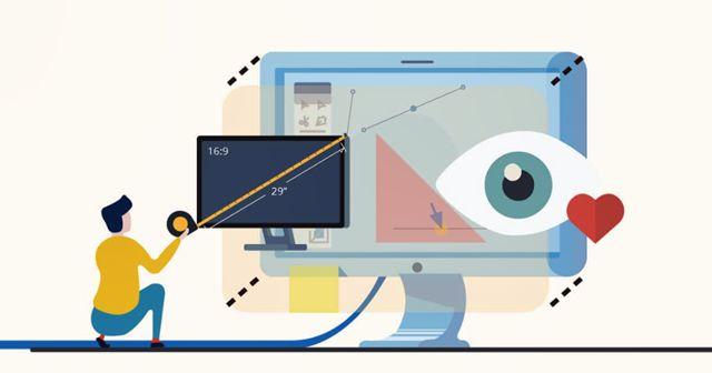 Подбор размера монитора для графического дизайна