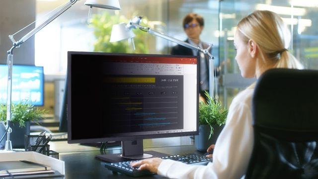 Защищенное использование монитора в публичном офисе