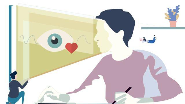 Фильтрация синего излучения для защиты глаз пользователя