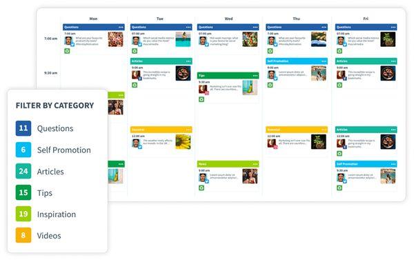 Календарь SmarterQueue – умный универсальный инструмент управления социальными сетями