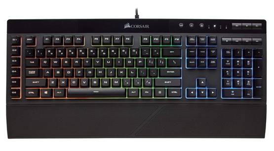 Бюджетная игровая клавиатура Corsair K55 RGB